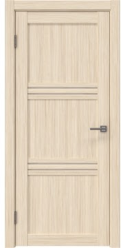 Межкомнатная дверь RM036 (экошпон «беленый дуб FL», лакобель белый) — 9222