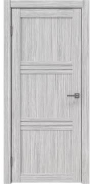 Межкомнатная дверь RM036 (экошпон «серый дуб FL», лакобель белый) — 9225