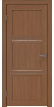 Межкомнатная дверь, RM036 (экошпон орех FL, лакобель белый)