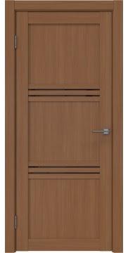Межкомнатная дверь, RM036 (экошпон орех FL, лакобель черный)