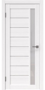 Межкомнатная дверь RM037 (экошпон «белый FL», лакобель белый) — 9231