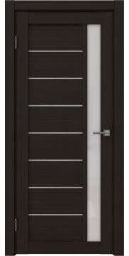 Межкомнатная дверь, RM037 (экошпон венге FL, лакобель белый)