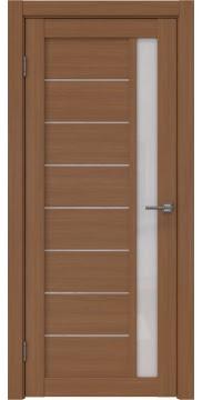 Межкомнатная дверь RM037 (экошпон «орех FL», лакобель белый) — 9243