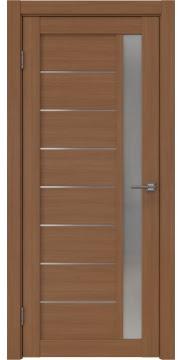 Межкомнатная дверь RM037 (экошпон «орех FL», матовое стекло) — 9245