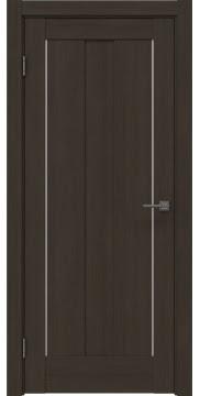 Межкомнатная дверь, RM042 (экошпон мокко, глухая)