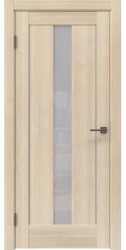 Межкомнатная дверь, RM043 (экошпон капучино мелинга, лакобель белый)