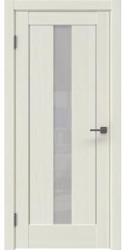 Межкомнатная дверь RM043 (экошпон «эш вайт мелинга» / лакобель белый) — 0970