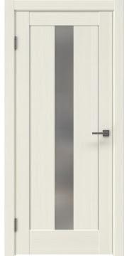 Межкомнатная дверь RM043 (экошпон «эш вайт мелинга» / матовое стекло) — 0972
