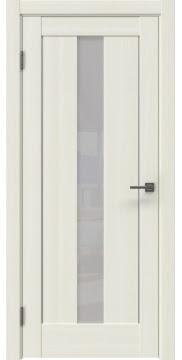 Межкомнатная дверь RM043 (экошпон «сандал белый» / лакобель белый) — 0958