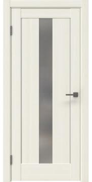 Межкомнатная дверь RM043 (экошпон «сандал белый» / матовое стекло) — 0960