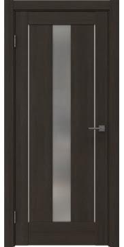 Межкомнатная дверь RM043 (экошпон «венге мелинга» / матовое стекло) — 0954