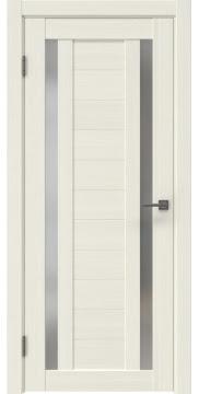 Межкомнатная дверь RM045 (экошпон «эш вайт мелинга» / матовое стекло) — 0991