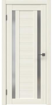Межкомнатная дверь RM045 (экошпон «сандал белый» / матовое стекло) — 0987