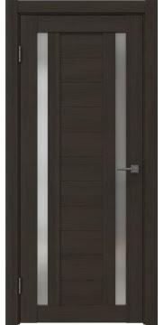 Межкомнатная дверь RM045 (экошпон «венге мелинга» / матовое стекло) — 0985