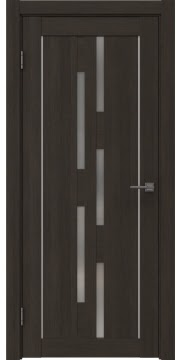 Межкомнатная дверь RM046 (экошпон «венге мелинга» / матовое стекло) — 0994