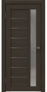 Межкомнатная дверь RM047 (экошпон «мокко» / матовое стекло) — 1005