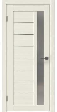 Межкомнатная дверь RM047 (экошпон «эш вайт мелинга» / матовое стекло) — 1007