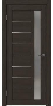 Межкомнатная дверь RM047 (экошпон «венге мелинга» / матовое стекло) — 1001