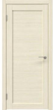 Межкомнатная дверь, RM048 (экошпон дуб млечный, глухая)