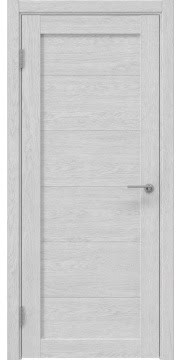 Межкомнатная дверь, RM048 (экошпон серый дуб, глухая)