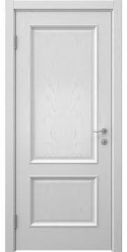 Межкомнатная дверь SK002 (шпон ясень светло-серый / глухая) — 5911