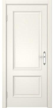 Межкомнатная дверь, SK002 (эмаль слоновая кость, глухая)