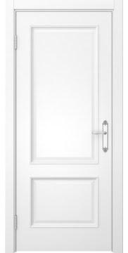 Межкомнатная дверь SK002 (эмаль белая / глухая) — 5028