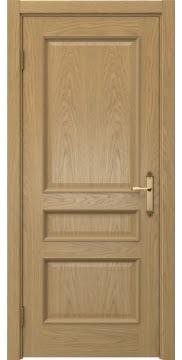 Межкомнатная дверь SK003 (натуральный шпон дуба / глухая) — 5114