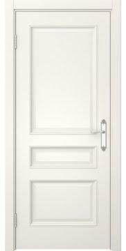 Межкомнатная дверь, SK003 (эмаль слоновая кость, глухая)