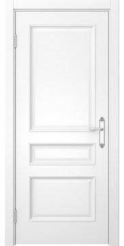 Межкомнатная дверь, SK003 (эмаль белая, глухая)