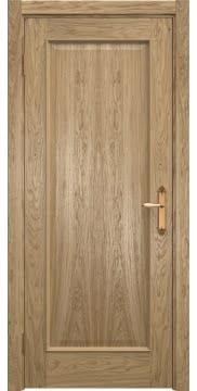 Межкомнатная дверь SK005 (натуральный шпон дуба / глухая) — 5036