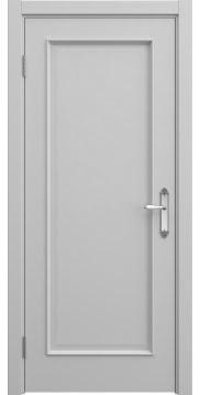 Межкомнатная дверь, SK005 (эмаль серая, глухая)