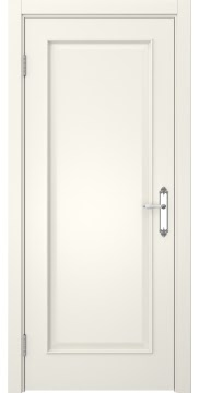Межкомнатная дверь, SK005 (эмаль слоновая кость, глухая)