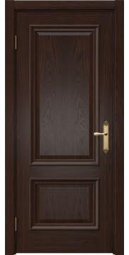 Межкомнатная дверь SK006 (шпон дуб коньяк / глухая) — 5055