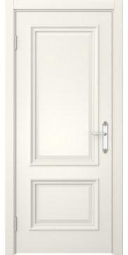 Межкомнатная дверь, SK006 (эмаль слоновая кость, глухая)