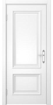 Межкомнатная дверь, SK006 (эмаль белая, глухая)