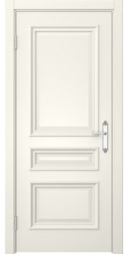 Межкомнатная дверь, SK007 (эмаль слоновая кость, глухая)