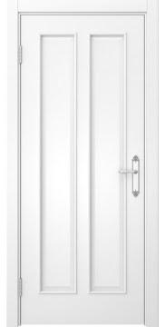 Межкомнатная дверь, SK008 (эмаль белая, глухая)