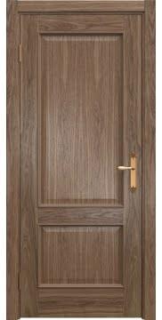 Межкомнатная дверь SK011 (шпон американский орех / глухая) — 5808
