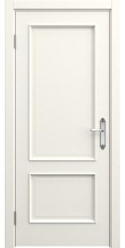 Межкомнатная дверь, SK011 (эмаль слоновая кость, глухая)