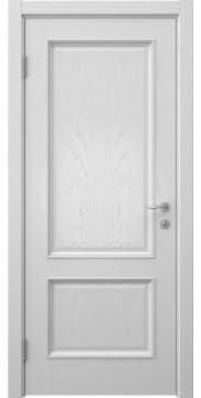Межкомнатная дверь SK014 (шпон ясень светло-серый / глухая) — 5932