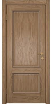 Межкомнатная дверь SK014 (шпон дуб светлый / глухая) — 5917