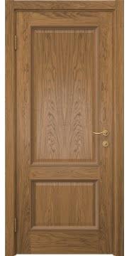 Межкомнатная дверь SK014 (шпон дуб античный с патиной / глухая) — 5920