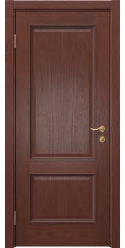 Межкомнатная дверь SK014 (шпон красное дерево / глухая) — 5923