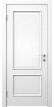 Межкомнатная дверь SK014 (шпон ясень белый / глухая) — 5929