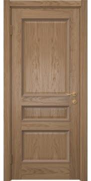 Межкомнатная дверь SK015 (шпон дуб светлый / глухая) — 5941