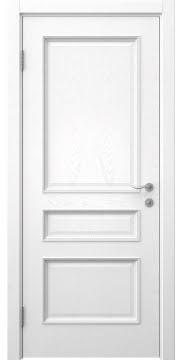 Межкомнатная дверь, SK015 (шпон ясень белый, глухая)