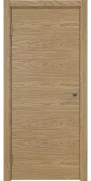 Межкомнатная дверь, ZK001 (шпон дуб натуральный, глухая)