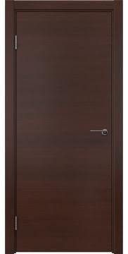 Межкомнатная дверь ZK001 (шпон итальянский орех / глухая) — 5806