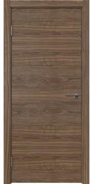 Межкомнатная дверь ZK001 (шпон американский орех / глухая) — 5805